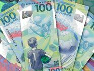 Российские «футбольные» 100 рублей вошли в рейтинг самых красивых купюр мира