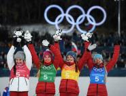Россия опустилась на 19-е место в медальном зачете