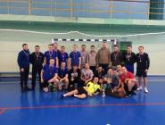 Турнир по мини-футболу провели пожарные и полицейские Коряжмы