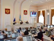Областные депутаты рассмотрели блок вопросов социальной направленности