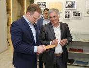 В музее трудовой славы Котласского ЦБК новый экспонат
