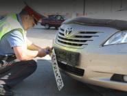 Сотрудников ГИБДД лишили права снимать номера с машин
