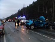 Два человека пострадали в ДТП на трассе Котлас – Коряжма