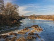 Октябрь был теплым, льда на реках нет