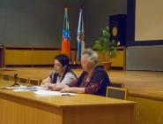 В администрации прошла встреча населения города с главврачом коряжемской горбольницы Татьяной Свиридовой