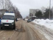 В Коряжме произошло ДТП с участием скорой помощи