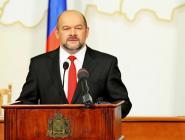 Губернатора Игорь Орлов обратился к областному Собранию депутатов