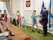 77 многодетных семей Поморья отмечены дипломом «Признательность»