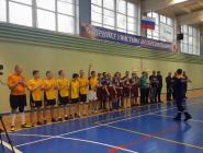 Пожарно-спасательные подразделения и правоохранительные структуры провели турнир по мини-футболу в Коряжме