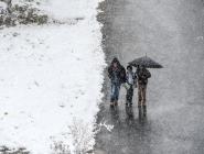 В Архангельской области мартовские снегопады, метели и сильный мороз