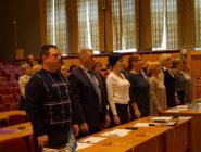 В Коряжме состоялась первая сессия депутатов городской Думы шестого созыва