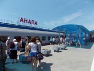 Назначены дополнительные поезда на Анапу и обратно