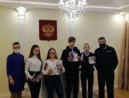 В Коряжме торжественно вручили паспорта школьникам