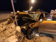 В Котласе в результате дорожно-транспортного происшествия погибли три девушки