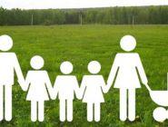 Многодетным семьям Поморья предоставляют выплаты вместо земельных участков
