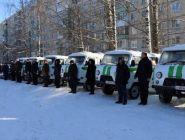 Автопарк региональной службы судебных приставов пополнился 12 новыми автомобилями