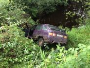 Пьяный подросток прокатился на автомобиле...
