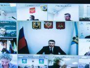 Александр Цыбульский провел заседание оперштаба по противодействию распространению COVID-19
