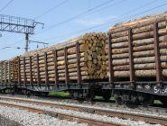 Погрузка леса на Северной железной дороге растет