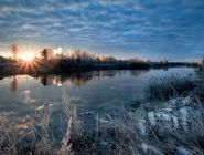 Когда на реках появится лёд?