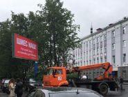В плакатах «Стоп Шиес» прокуратура усмотрела экстремизм