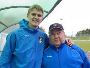 Коряжемский футболист играет  в ярославском клубе