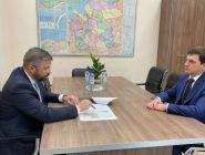 Дмитрий Рожин и Тамирлан Аджиев обсудили реализацию в регионе программы расселения из аварийного жилфонда