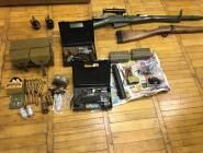 Котлас: ФСБ пресекла незаконный канал поставки оружия на территорию нашего региона