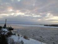 Обзор сложившихся гидрологических условий на реках Архангельской области 10 января