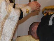 Осужденные приняли Крещение