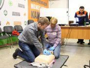 Филиал Группы «Илим» в Коряжме повысил уровень тренировки «Добровольцев-спасателей»
