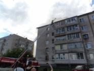 Пожар возник из-за самодельного удлинителя