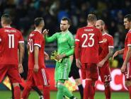 У сборной России по футболу пока последнее место