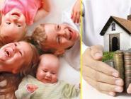 Президент России поручил субсидировать ипотеки для семей с 4 детьми и более