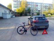В ДТП виноват велосипедист