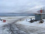 Теплая погода стала причиной закрытия ледовых переправ в Поморье